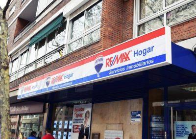Fotomurales para tiendas: Remax Hogar